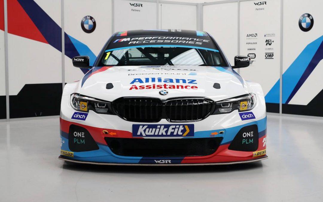 Wraps Come Off BMW's New 3 Series BTCC Contender