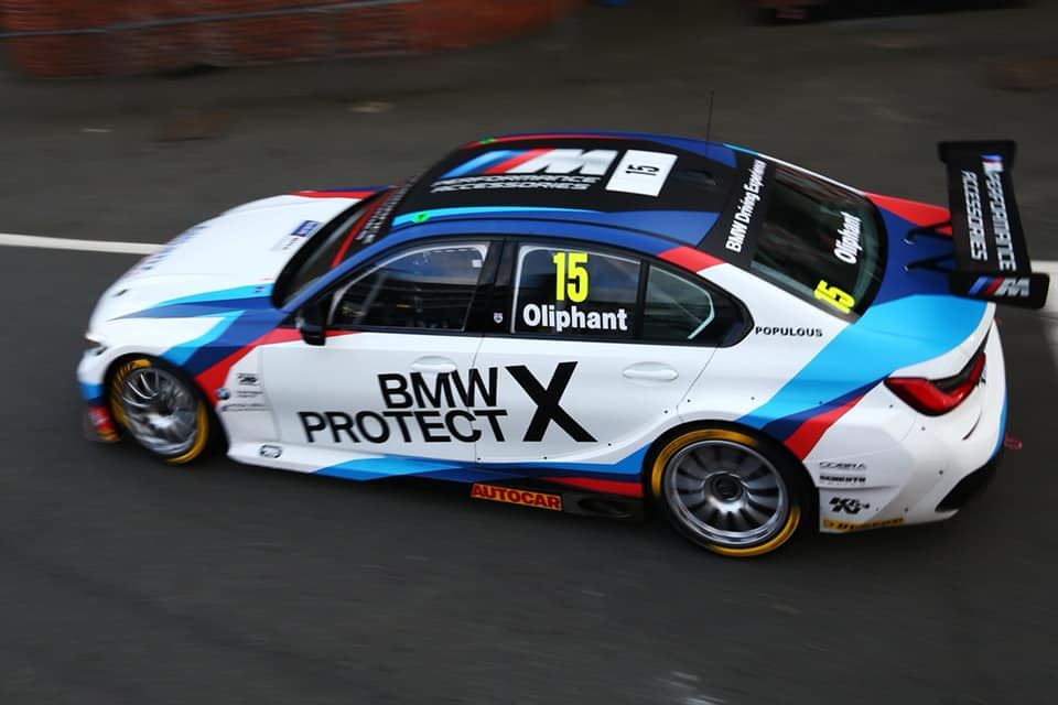 Tom Oliphant Joins WSR For 2019 Campaign