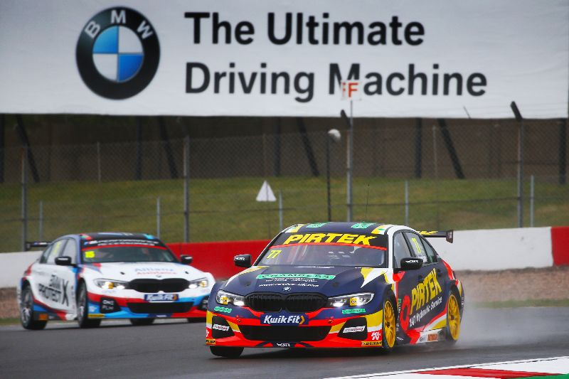 Jordan plans Donington fight back after 'wrong place, wrong time' BTCC qualifying session