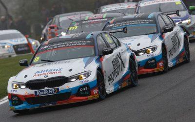Team BMW continue BTCC challenge at Donington
