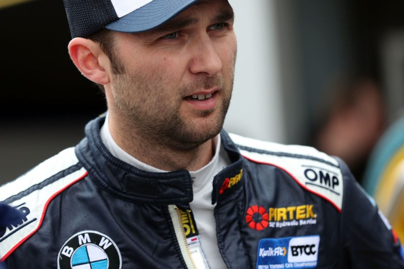 Jordan bruised but thankful for strength of BMW after Donington BTCC race incident