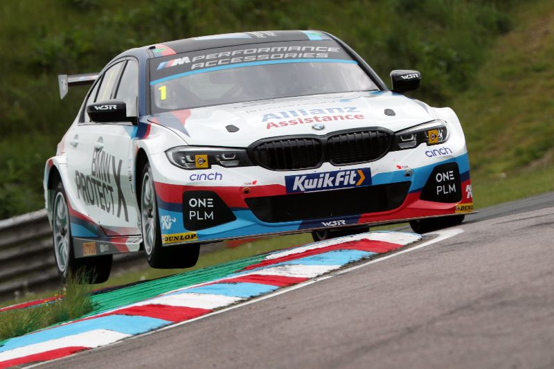 Team BMW confident after strong Thruxton qualifying