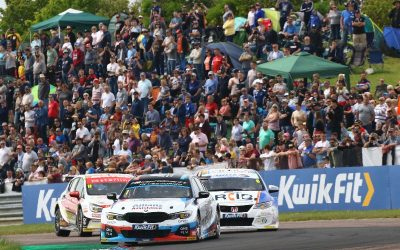 New Team BMW 330i M Sport challenger continues stunning form at Thruxton