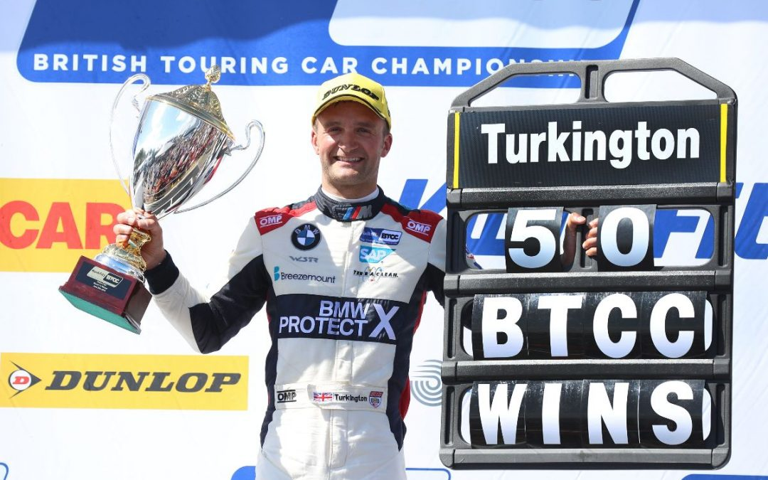 Turkington scores 50th BTCC victory at Oulton Park