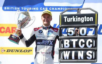 Turkington scores 50th BTCC victory at Oulton Park