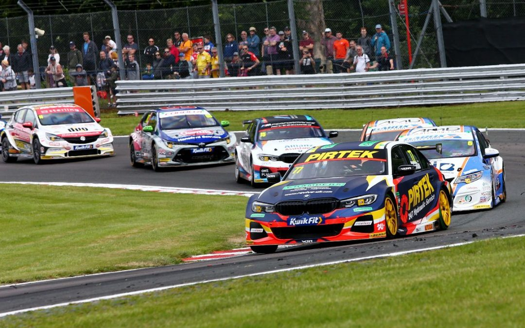 Jordan boosts BTCC title challenge with double podium