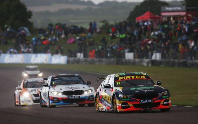 Andrew Jordan maintains BTCC title push at Thruxton