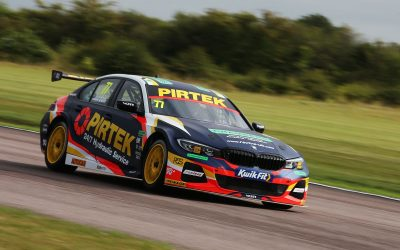 Andrew Jordan qualifies on seventh row at Thruxton