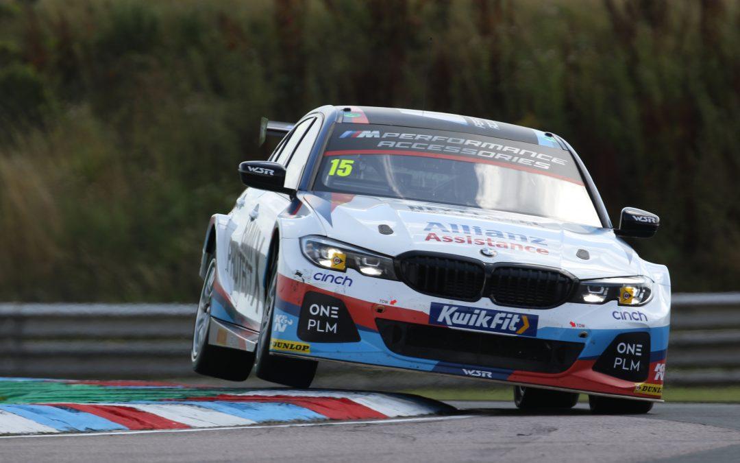 Team BMW best rear-wheel-drive qualifiers at Thruxton