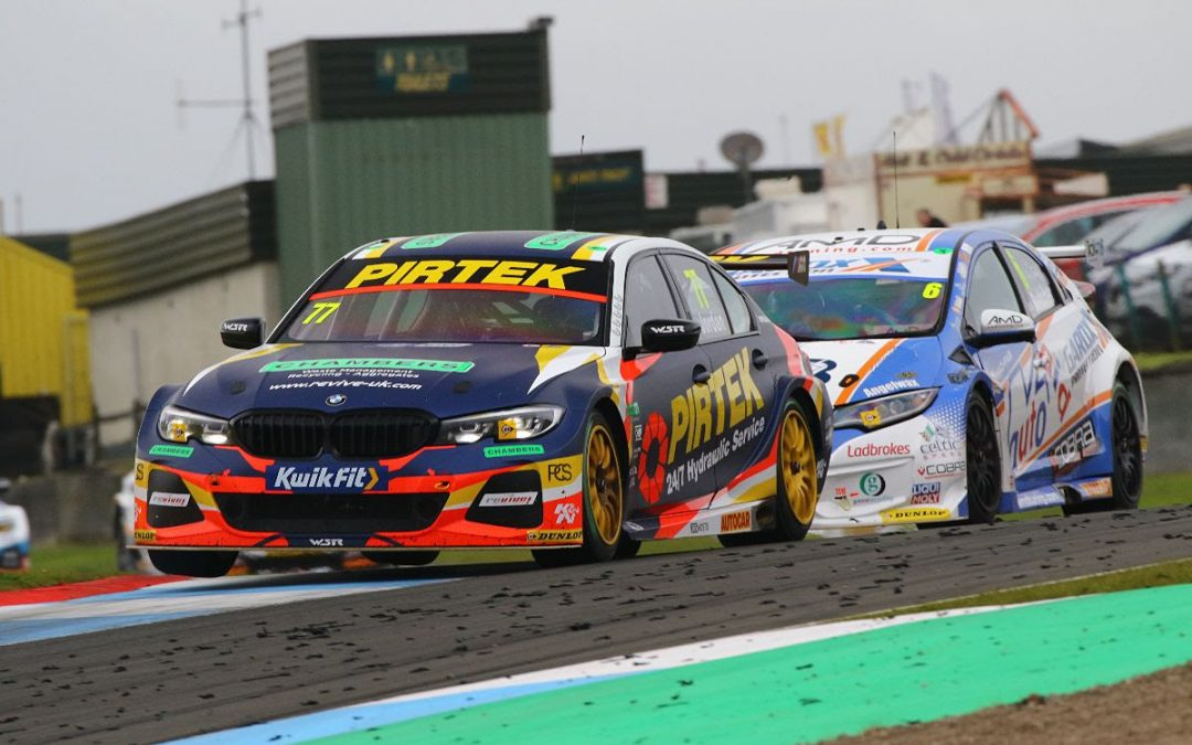 Andrew Jordan scores sixth win of BTCC season at Knockhill