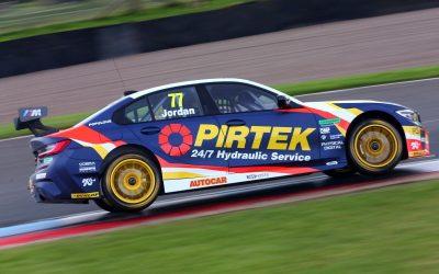 BMW Pirtek Racing's Andrew Jordan qualifies third at Knockhill