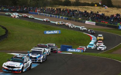 Team BMW dig deep to increase BTCC points lead at Knockhill