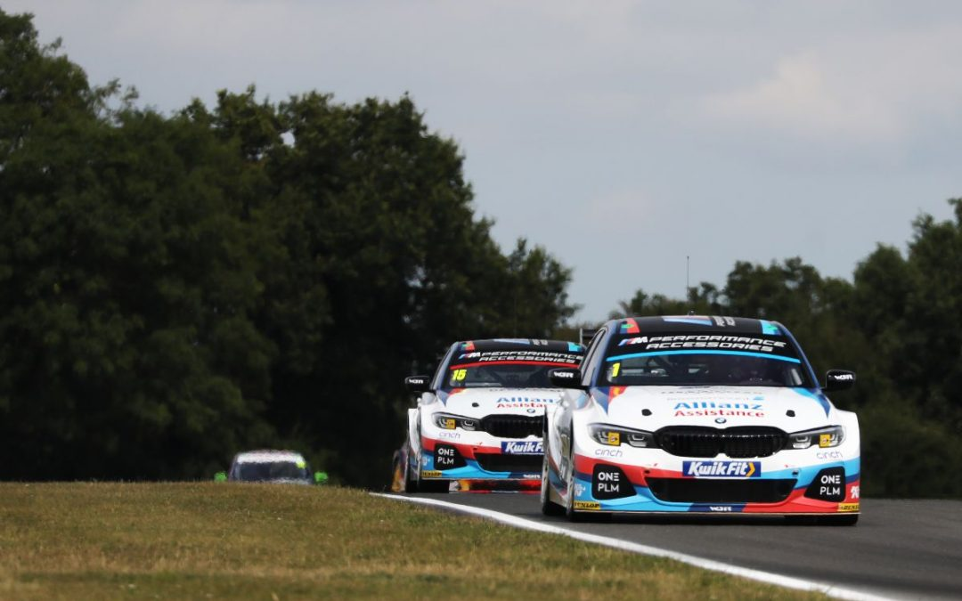 Team BMW continue BTCC title fight in Scotland