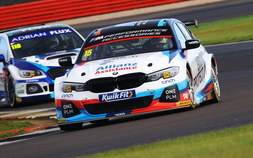 Oliphant stars as Team BMW fill third row of Silverstone grid