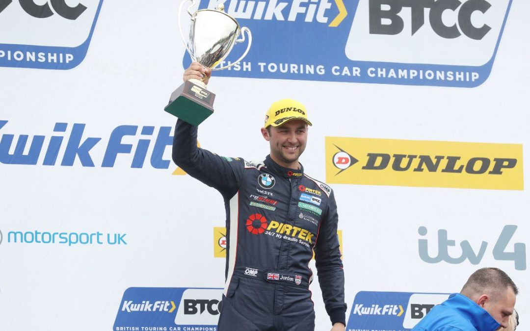 Jordan and BMW Pirtek Racing seal BTCC runner-up spot