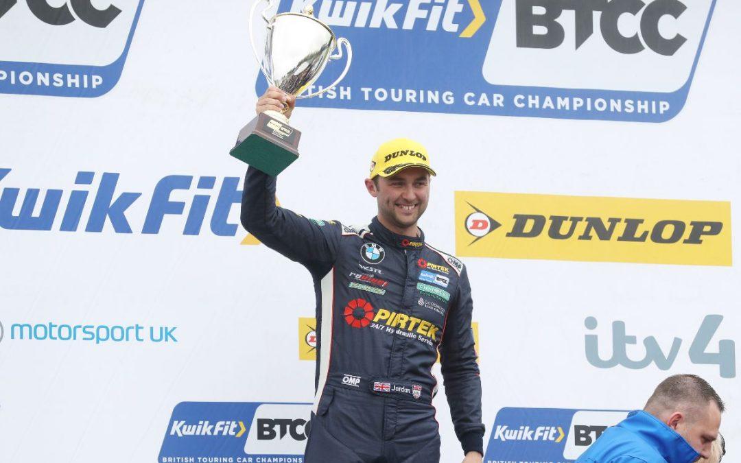 Jordan and BMW Pirtek Racing seal BTCC runner-up spot