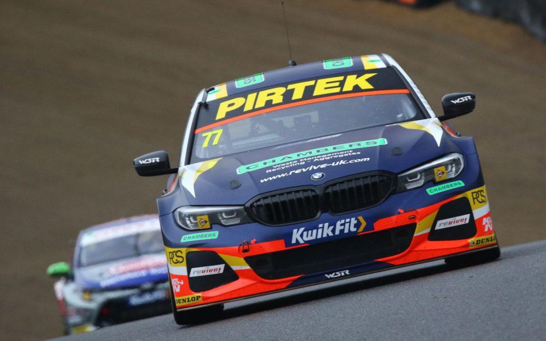 Jordan secures vital second-row start at wet Brands Hatch