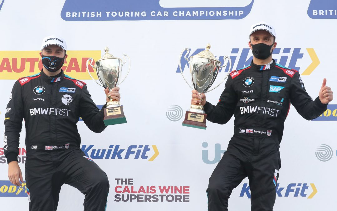 Team BMW stay ahead in BTCC title race with Oulton Park podiums
