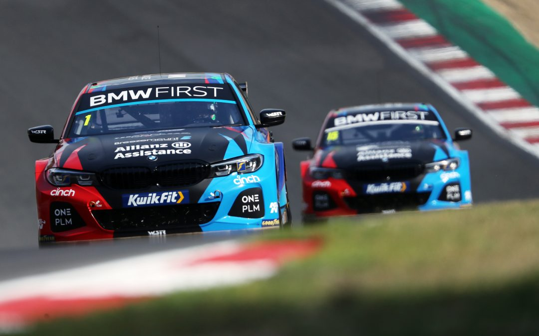 Team BMW duo tie for times in Brands Hatch qualifying