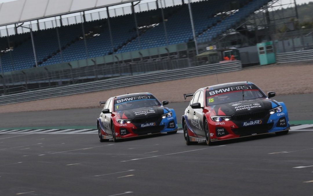 Team BMW in top five in Silverstone qualifying