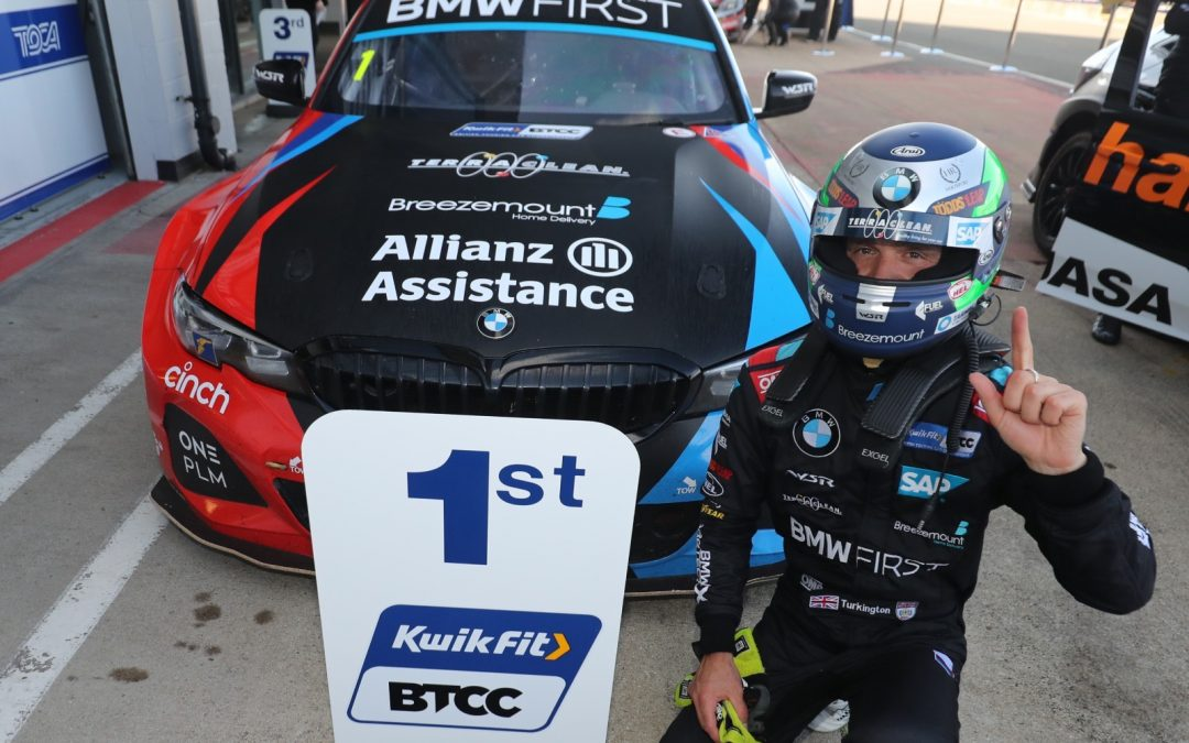 Turkington closes in on BTCC points lead with Silverstone win