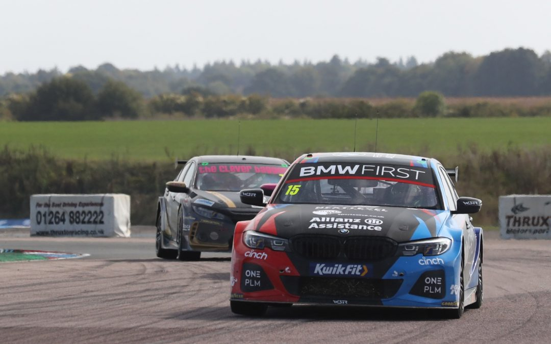 Team BMW maintain BTCC points lead despite tough Thruxton raceday
