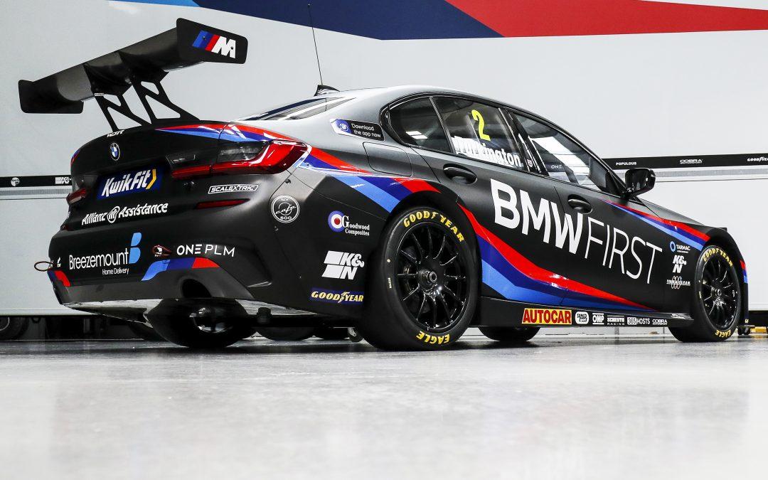 Team BMW launch BTCC title assault with striking new livery