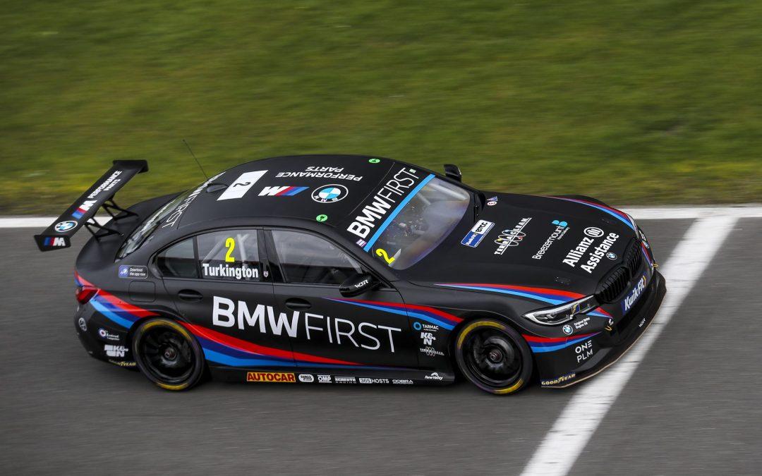Team BMW target BTCC record book as series starts at Thruxton