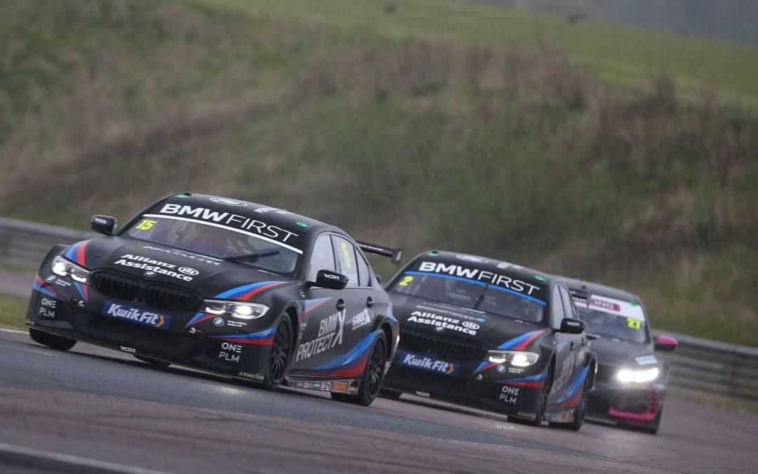 Team BMW kick off BTCC season at Thruxton