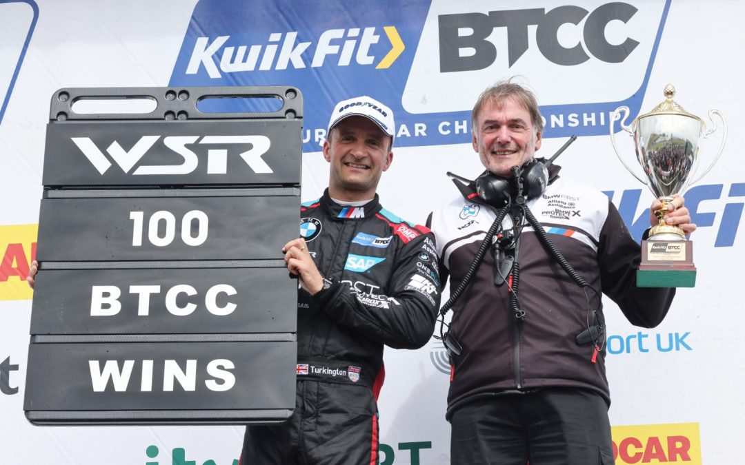 Turkington storms to landmark 100th BTCC win for WSR