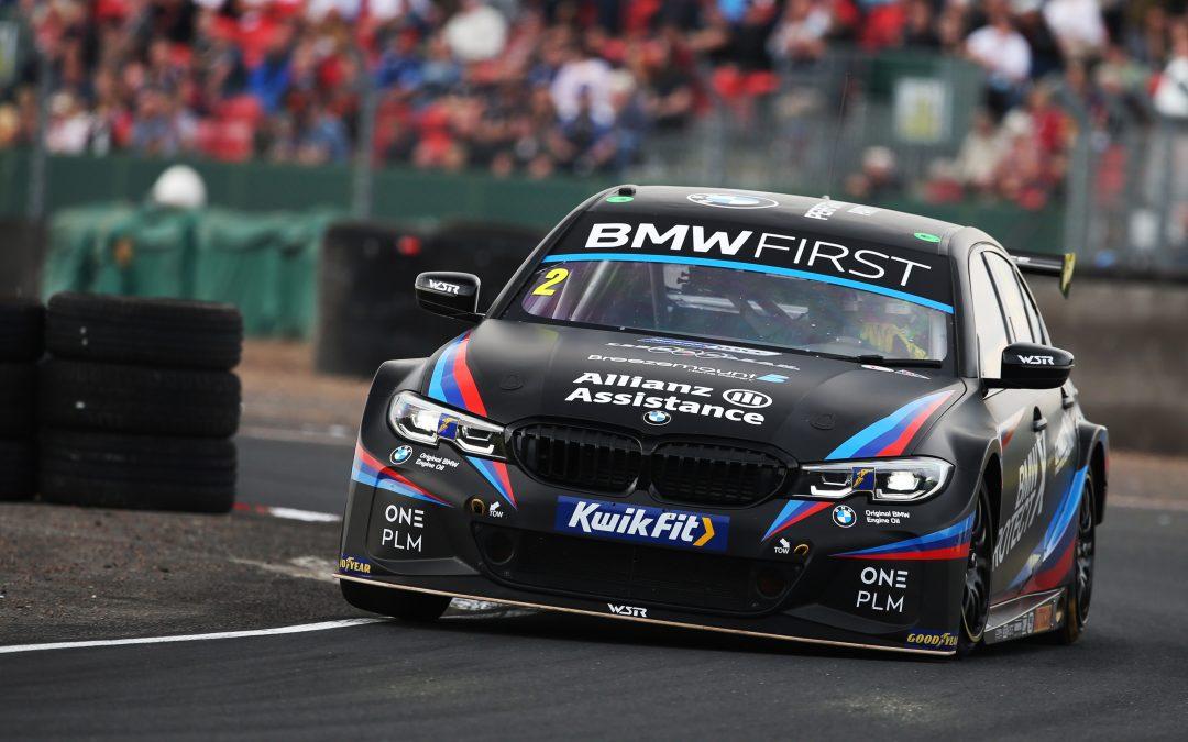 Turkington puts Team BMW on second row at Croft