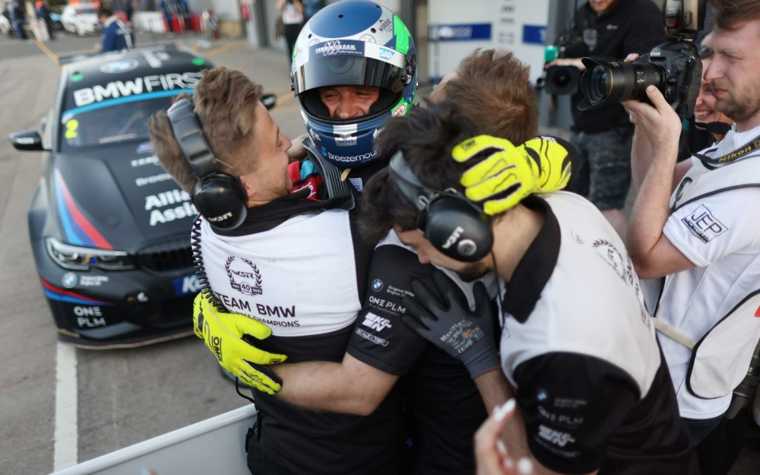 Team BMW's Colin Turkington storms to milestone 60th BTCC win